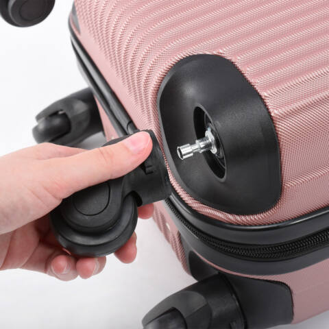 Rózsaarany Wizzair ingyenes méretű kabinbőrönd (40x30x20 cm)