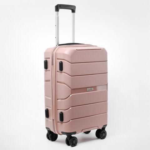 Besty Kis Méretű Púder Színű Polipropilén Bőrönd S (57x38x23cm)