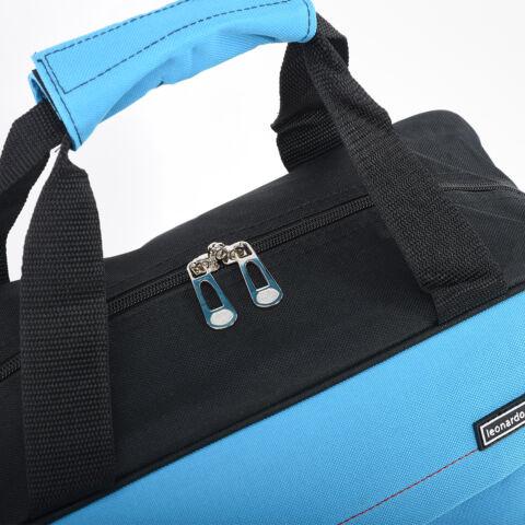 LDV Fekete kék Wizzair kézipoggyász méretű utazótáska (40x30x18 cm)