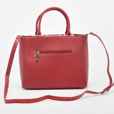 Diana & Co. Piros Rostbőr Kézitáska