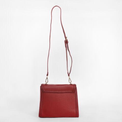 Diana & Co. Piros Női Rostbőr Kisméretű kézitáska