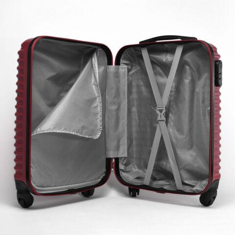 Menta Színű Nagyméretű Kemény Bőrönd (75x47x29cm)