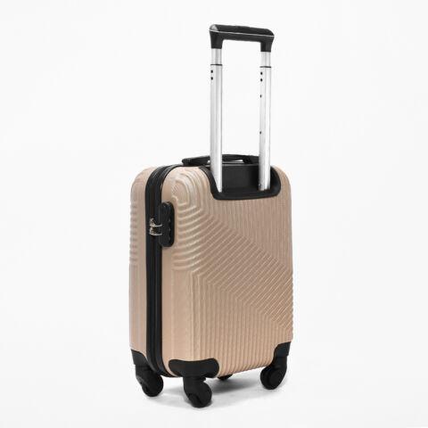 Pezsgő szinű Wizzair ingyenes méretű kabinbőrönd (40x30x20 cm)