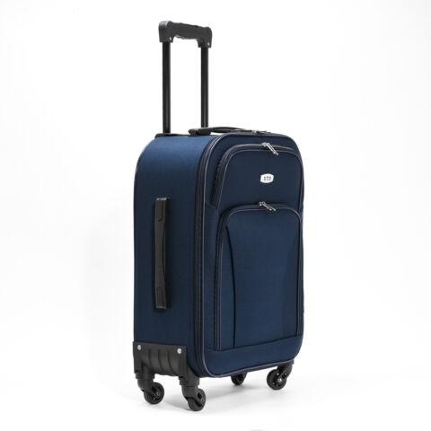 Besty Ultra könnyű sötétkék kabin méretű puha bőrönd