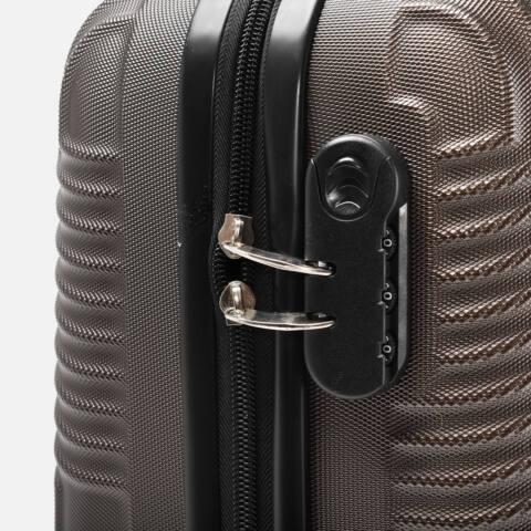 Kávé szinű Wizzair ingyenes méretű kabinbőrönd (40x30x20 cm)