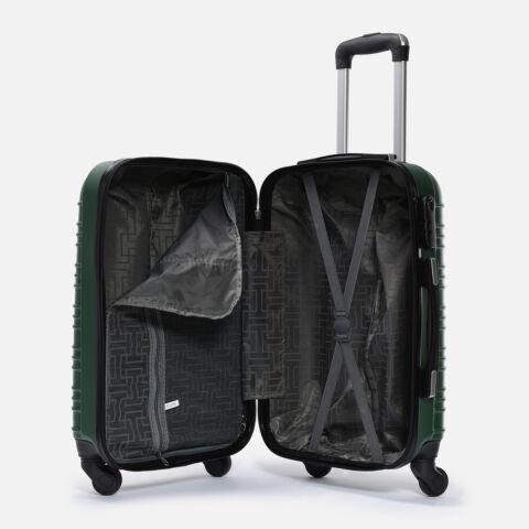 Leonardo Da Vinci  Kemény Nagy Méretű Bőrönd (4 Kerekű)