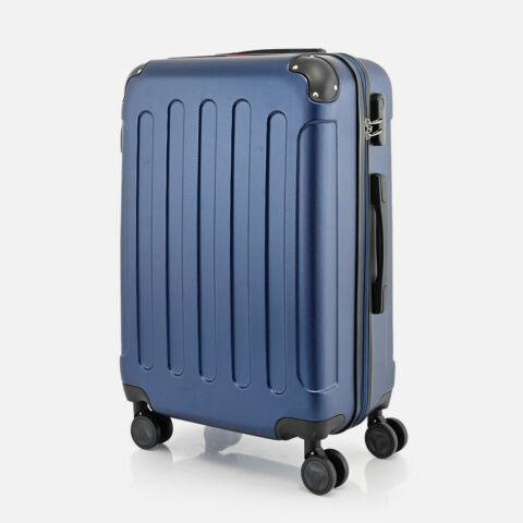 Bontour Sötétkék Vertical Kabinbőrönd (68x45x25 cm) M