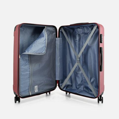 Bontour Bordó Vertical Kabinbőrönd Szett (L, M, S)