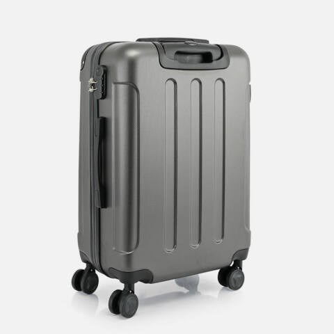 Bontour Sötétszürke Vertical Kabinbőrönd (68x45x25 cm) M