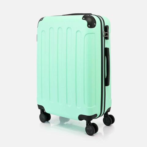 Bontour Zöld Vertical Kabinbőrönd (68x45x25 cm) M