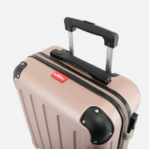 Bontour Rozé-Arany Vertical Kabinbőrönd (68x45x25 cm) M