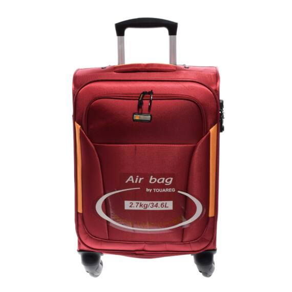 14N121 Piros Touareg Nagy Méretű puha Bőrönd