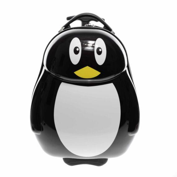 Pingvin Mintás Gyerek Bőrönd