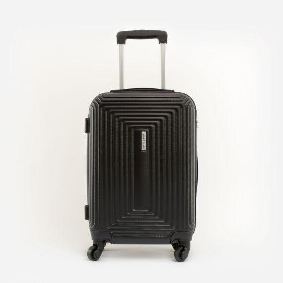 Leonardo Da VInci Nagy Méretű Fekete Műanyag Kemény Bőrönd