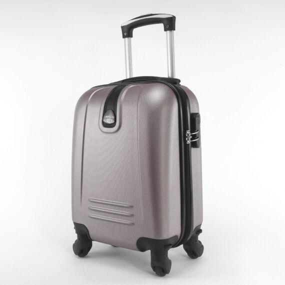 LDV  kávébarna Wizzair ingyenes méretű kabinbőrönd (40x30x20 cm)