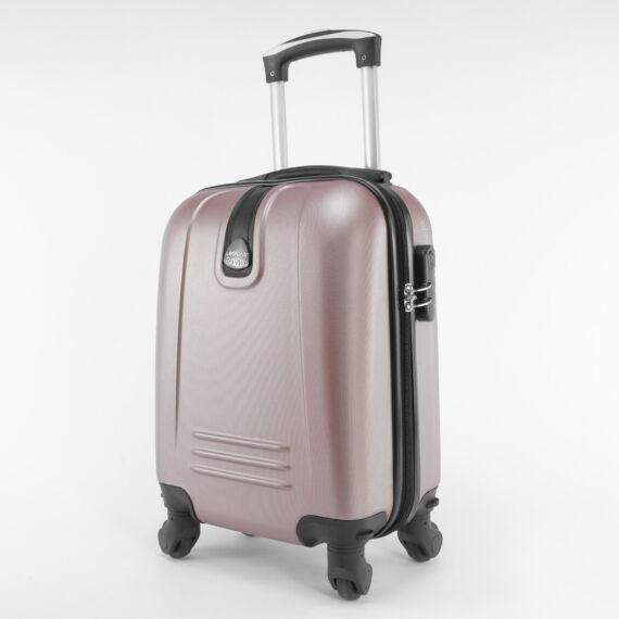 LDV rózsaarany Wizzair ingyenes méretű kabinbőrönd (40x30x20 cm)