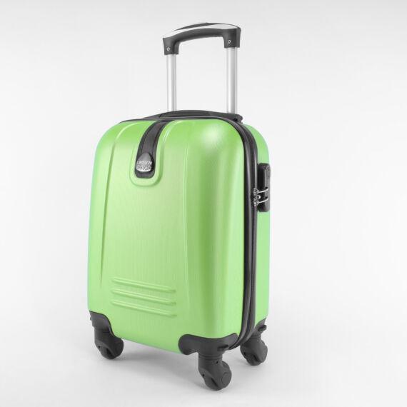 LDV zöld Wizzair ingyenes méretű kabinbőrönd (40x30x20 cm)