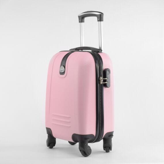 LDV világos rózsaszín Wizzair ingyenes méretű kabinbőrönd (40x30x20 cm)