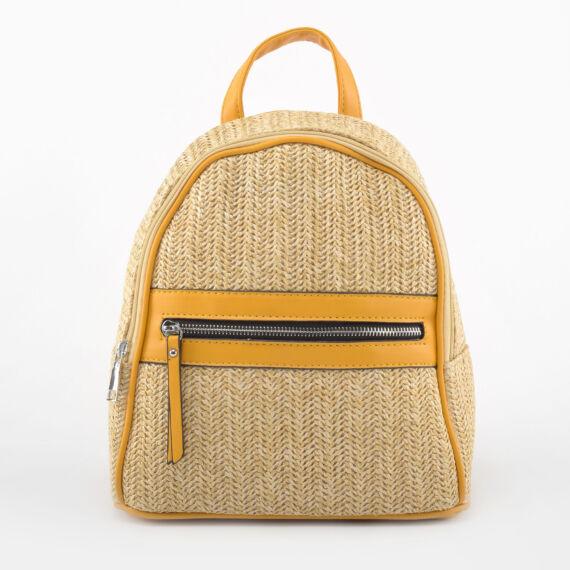 USF Női Sárga Szintetikus hátizsák