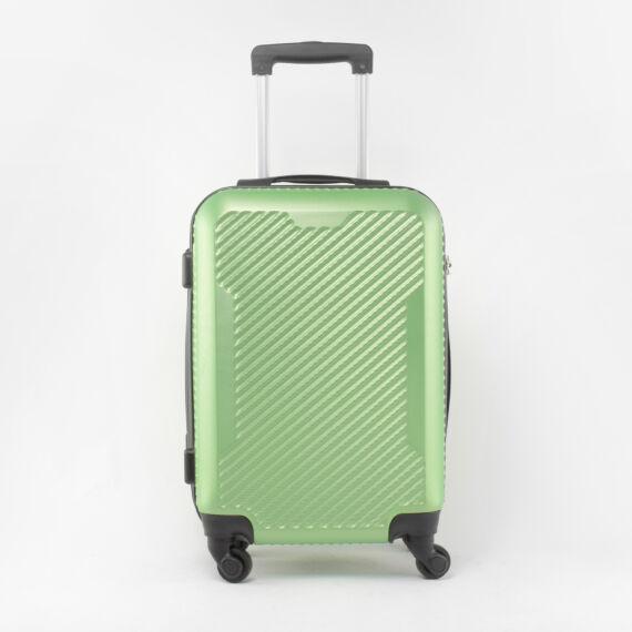 LDV Wizzair Méretű Neonzöld Kemény Kabinbőrönd(55*39*23cm)