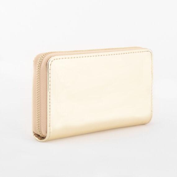 Női arany lakk pénztárca