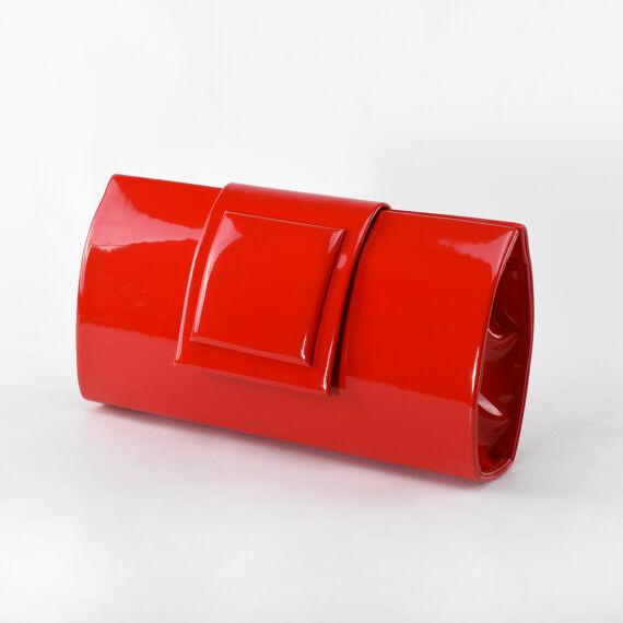 Prestige Piros Női Rostbőr Válltáska