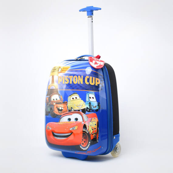 Disney Verdák mintás gurulós gyerek bőrönd