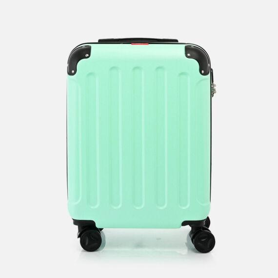 Bontour Zöld Vertical Kabinbőrönd (55x40x20CM) S
