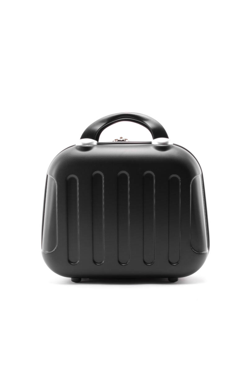 Fekete Bőröndre Akasztható Táska (33*25*16 cm)