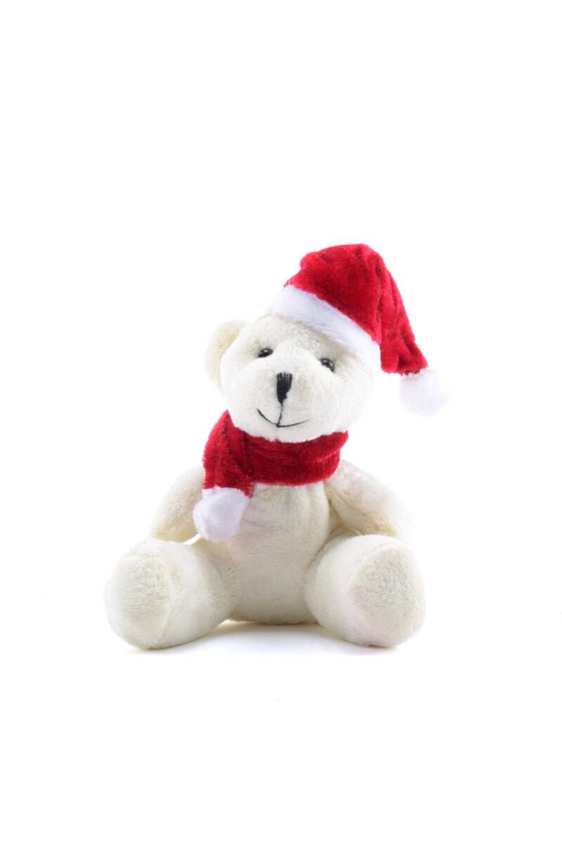 Karácsonyi macis kulcstartó Fehér