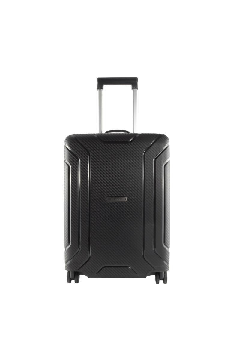 Fekete Touareg Matrix polipropilén kemény nagy bőrönd