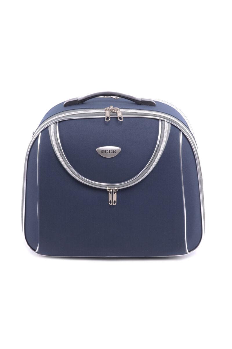 Kék Bőröndre Akasztható Táska 34X25X13Cm