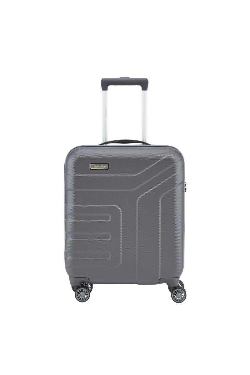 Travelite Vector Szürke Gurulós Kis Méretű Bőrönd