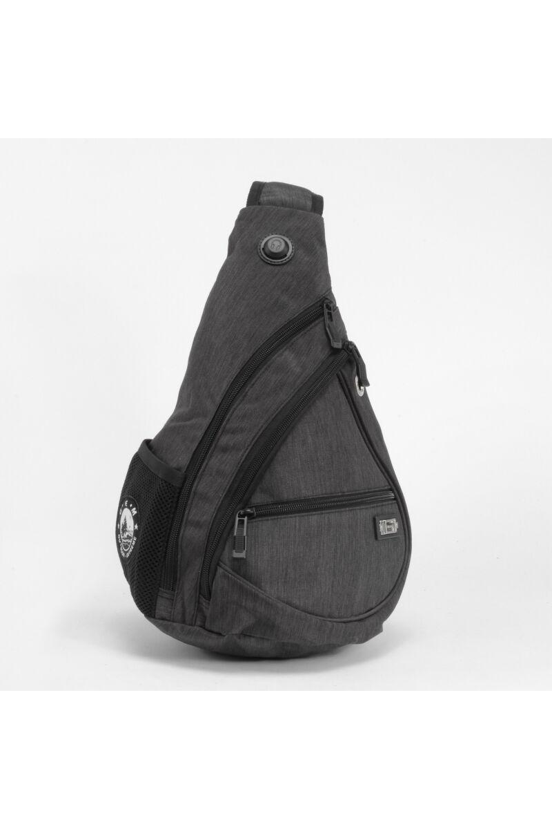 Szürke kisméretű hátizsák