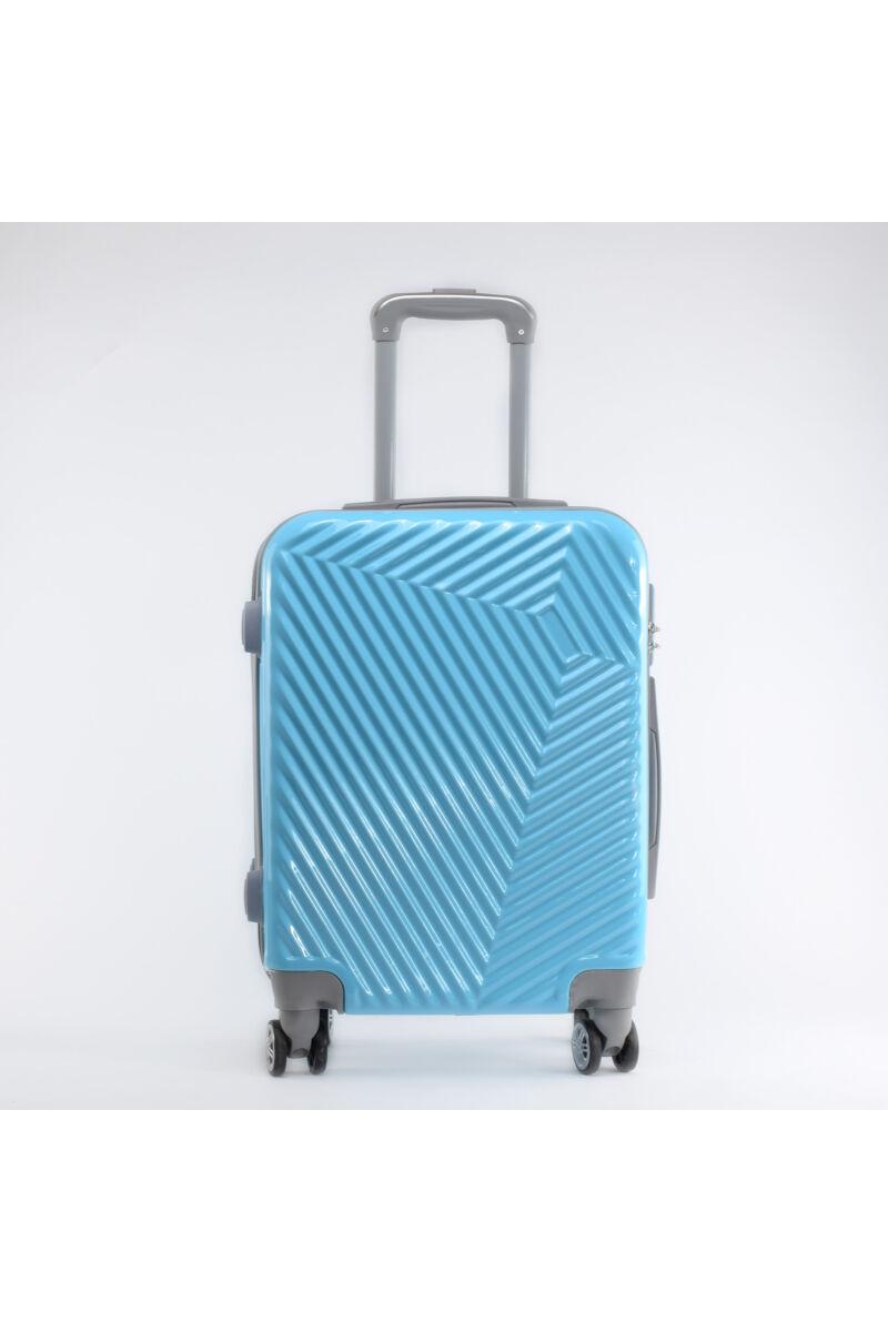LC-015 Égkék Közepes Méretű PVC bőrönd (69*45*26 cm)