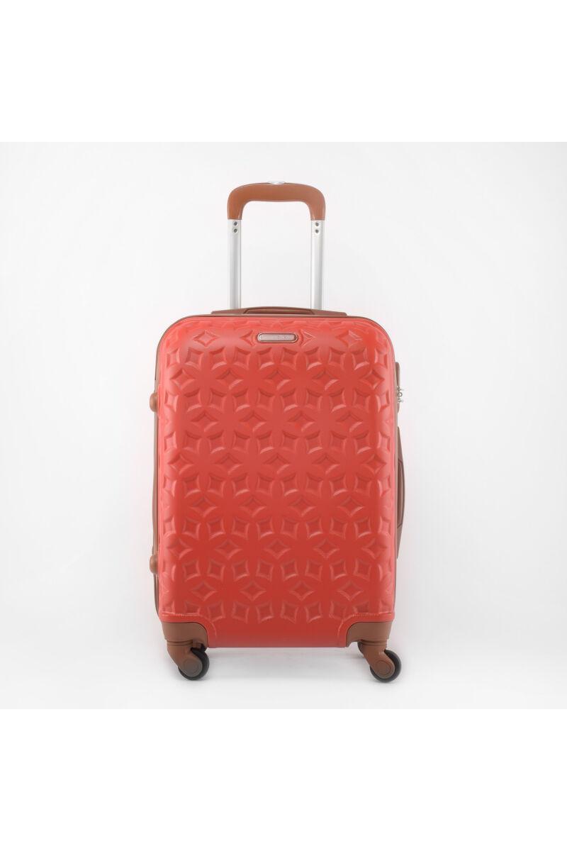 LDV Piros Kemény falú Négy kerekű Nagy méretű Bőrönd