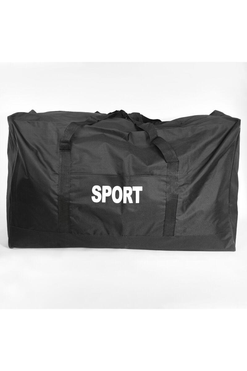 Fekete Extra nagy Szövet Sporttáska(90cm)