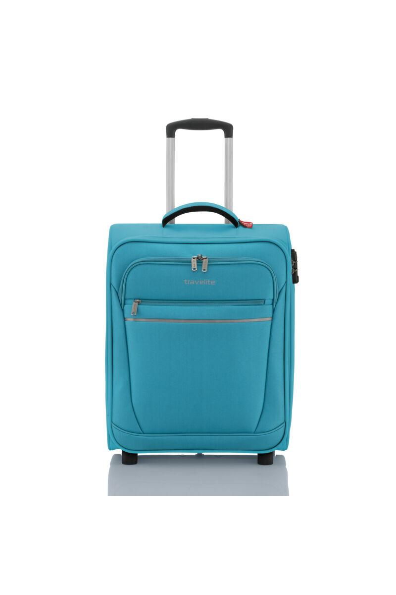 Travelite SOFT LUGGAGE Kabinbőrönd (2 kerekű) Türkiz 52x39x20 cm
