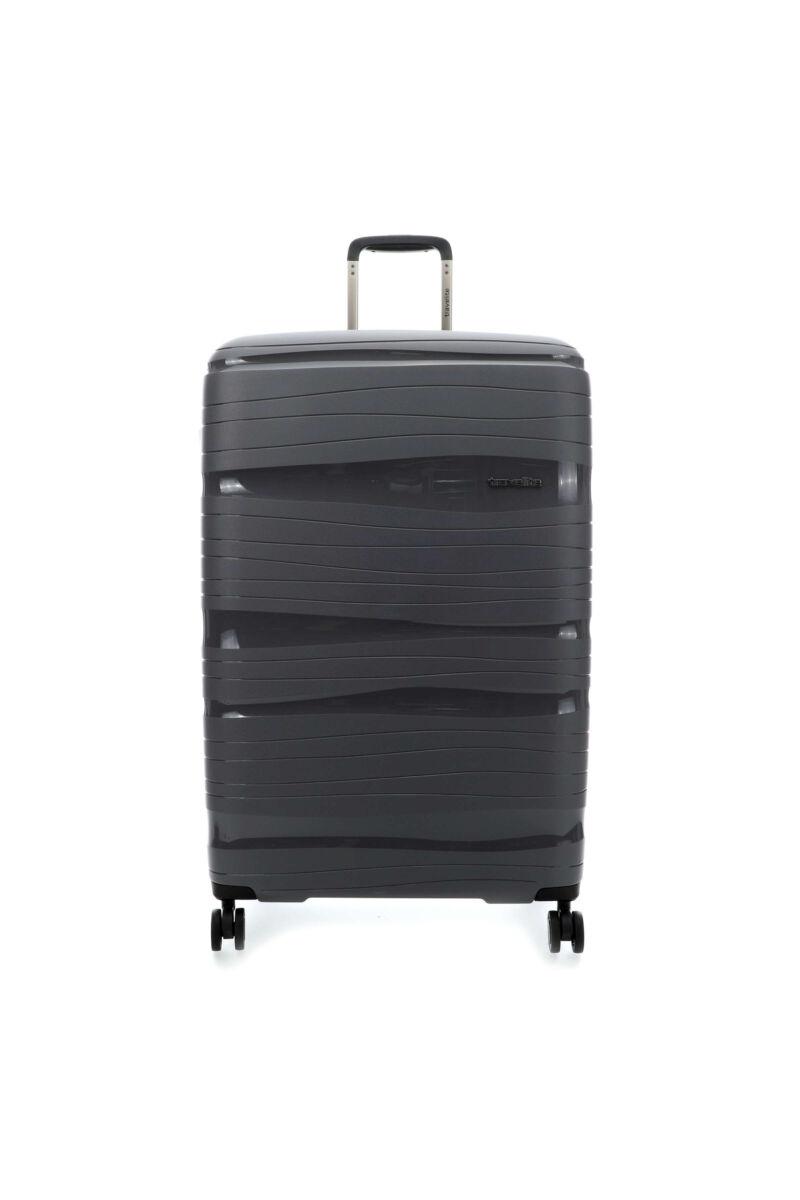 Travelite MOTION Nagy Bőrönd (4 kerekű) Szürke 77x51x30 cm