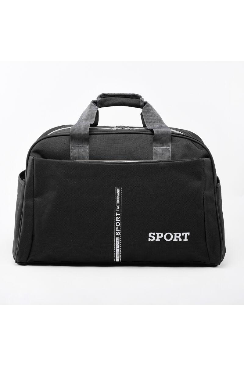 XTD Nagyméretű Fekete Sporttáska