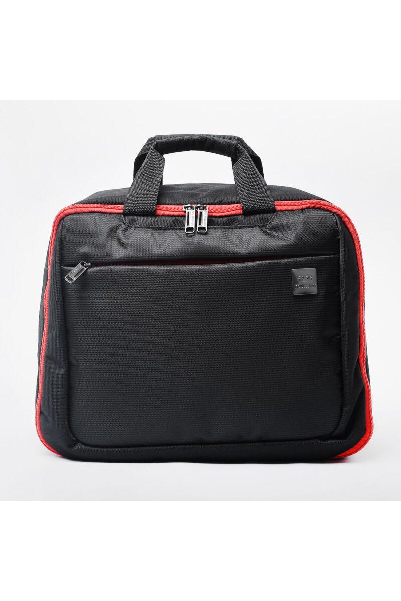 Touareg Új Utazótáska És Hátizsák Fekete-Piros(40*30*18cm)