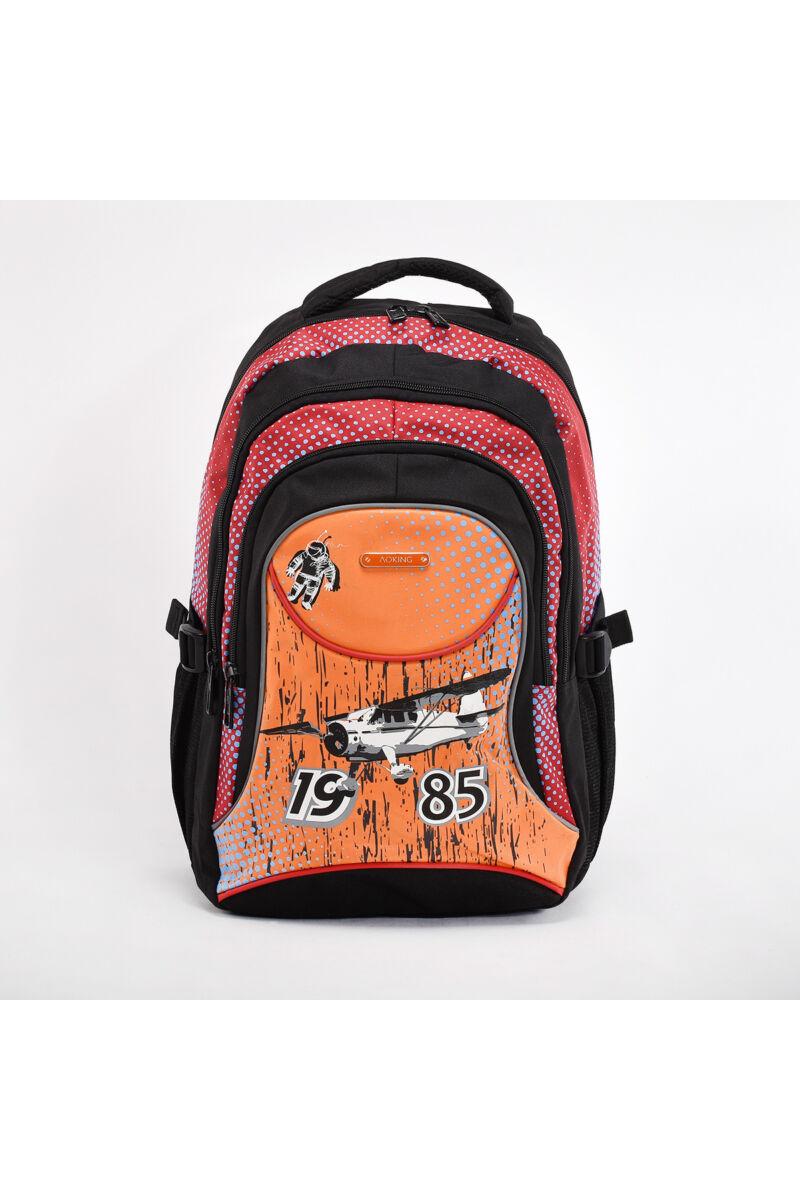 Aoking Repülős Narancssárga Gyerek Vászon Iskolatáska
