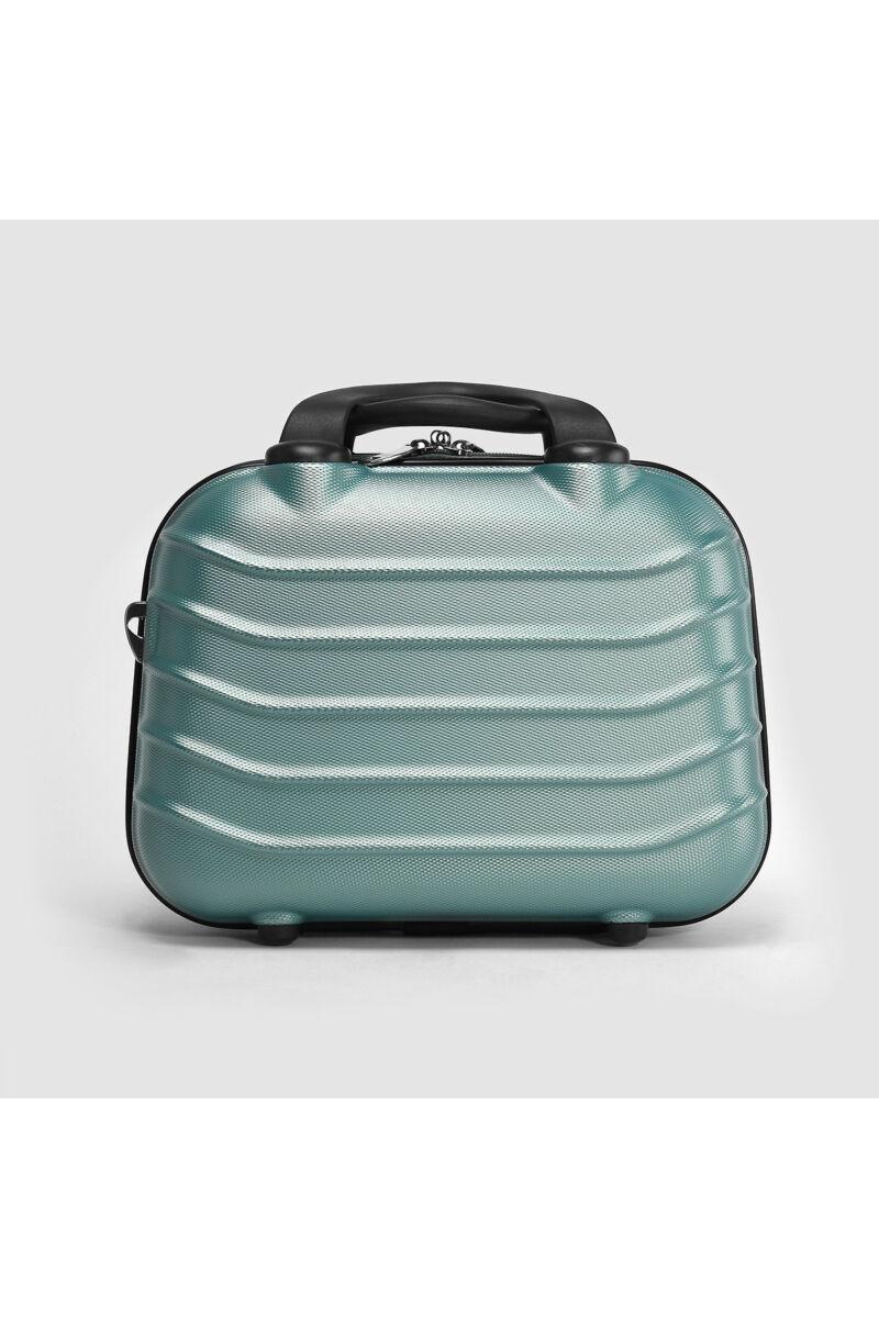 Menta Színű Közepes Méretű Bőröndre Akasztható Táska (34x27x15cm)