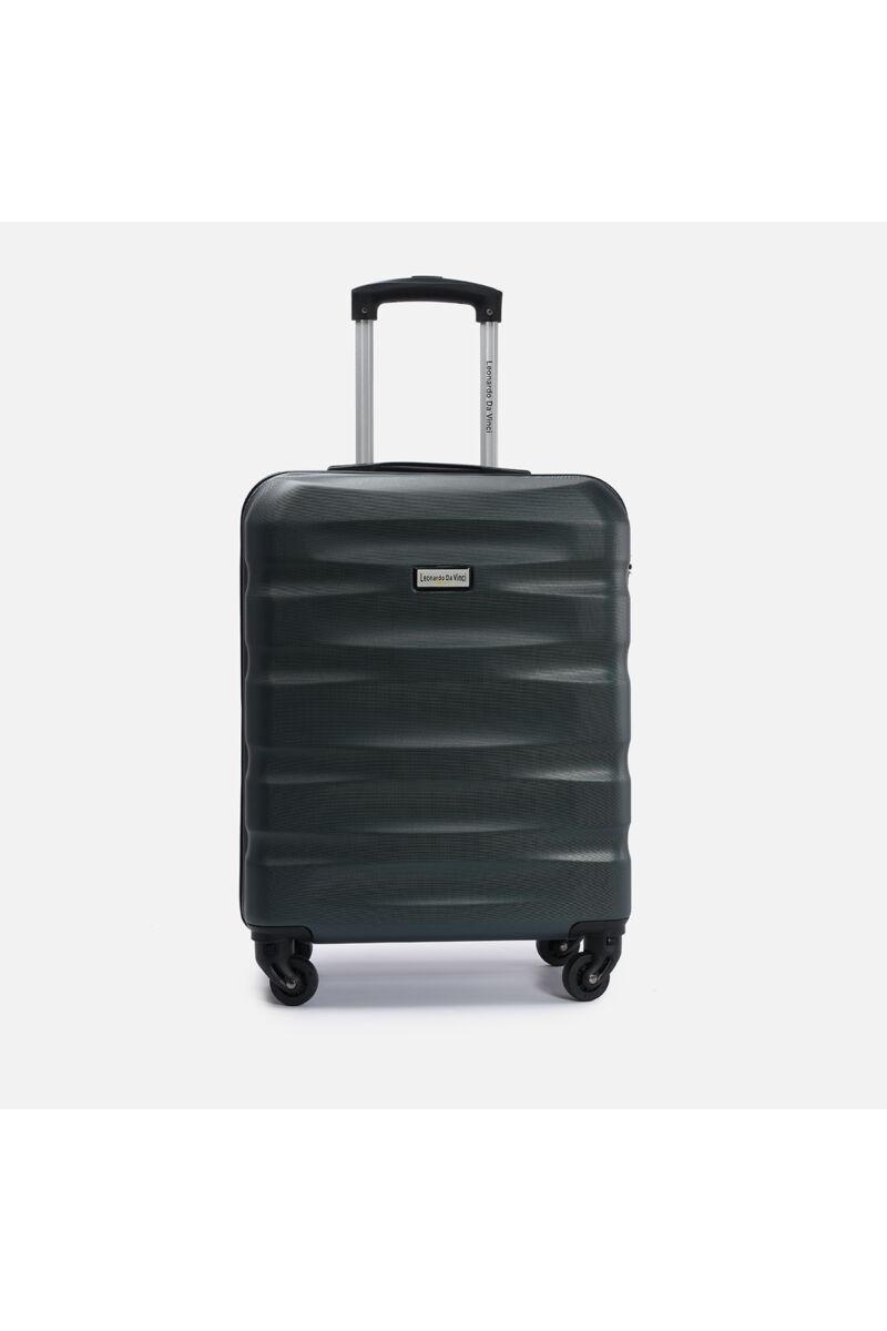 Sötétzöld , Ryanair Méretű Kabinbőrönd Biztonsági Zárral ( 55x40x20 cm)