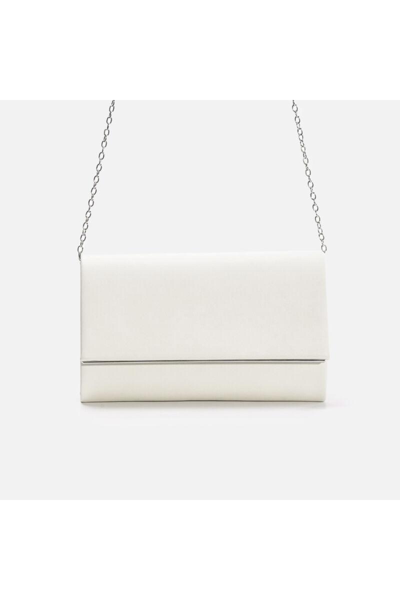 Bézs műbőr elegáns női alkalmi táska