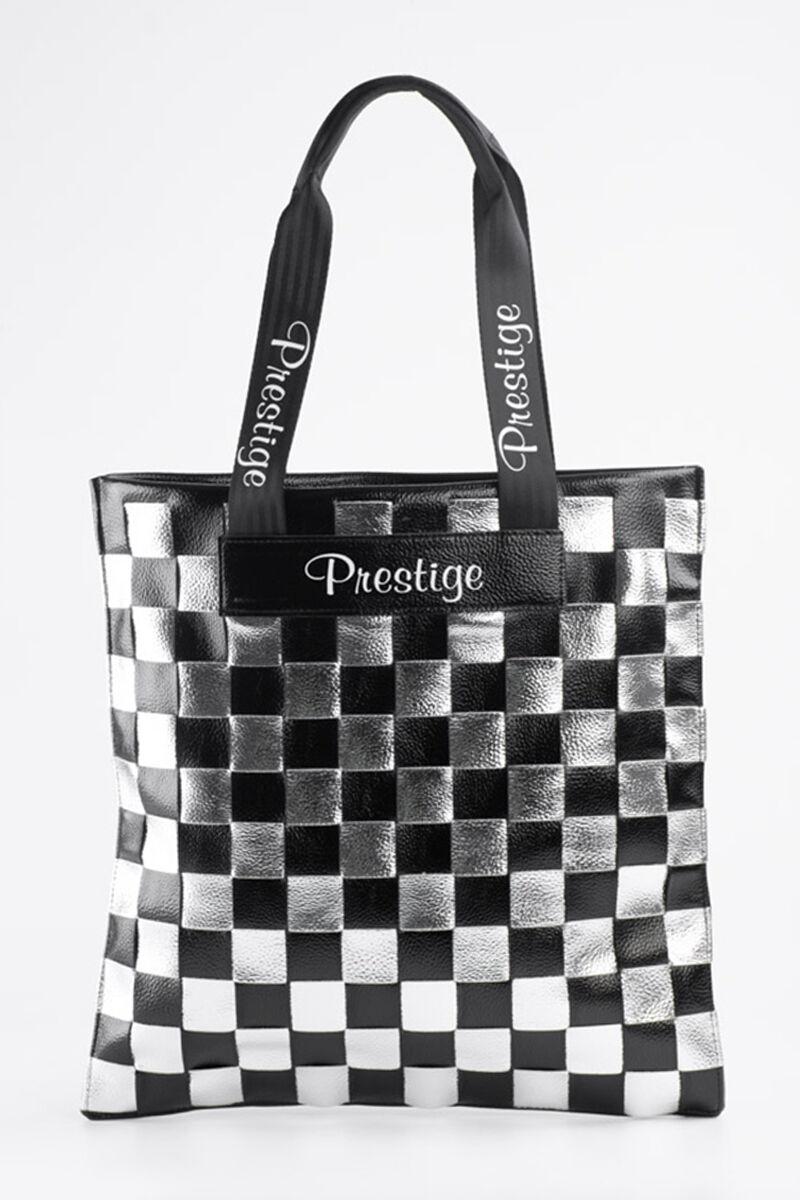 Prestige Rostbőr Fekete És Ezüst Koclás Válltáska