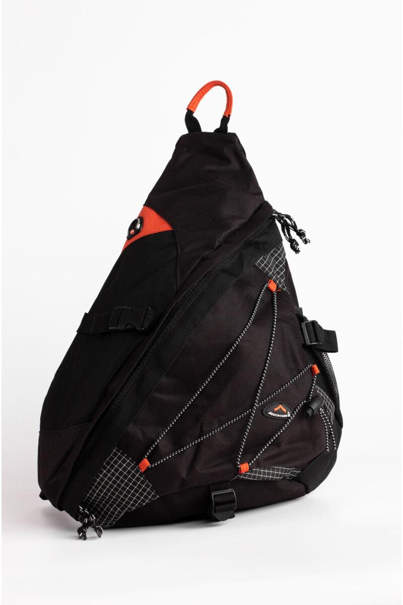 Fekete-Narancs Adventurer Átvetős Hátizsák