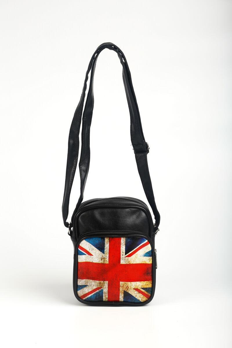 R&J Brit Zászlós Műbőr Női Oldaltáska