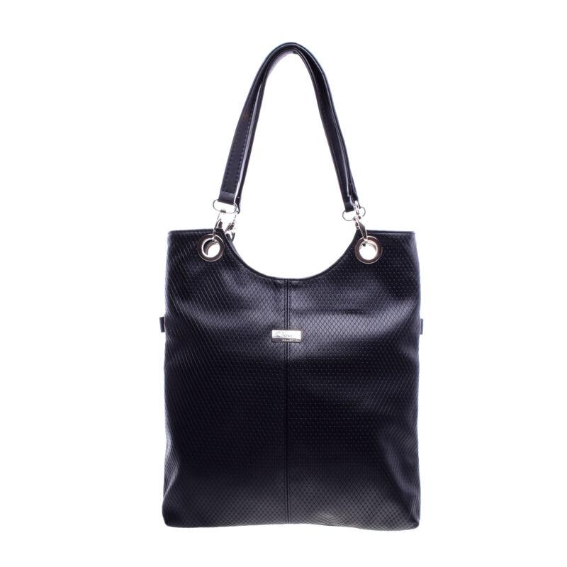 Női Diva Fekete Rostbőr Válltáska - Válltáskák - Táska webáruház - Minőségi  táskák mindenkinek 5beca4ebc4