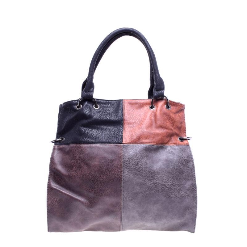 Női Barna-Fekete Műbőr Válltáska - Válltáskák - Táska webáruház - Minőségi  táskák mindenkinek f69082546a